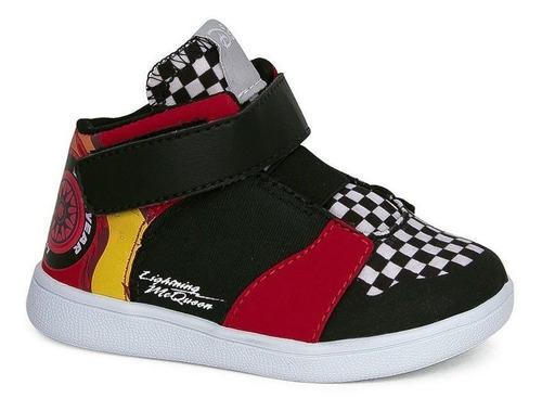 Bota Infantil Carros Relâmpago Mcqueem Sugar Shoes - Nº26