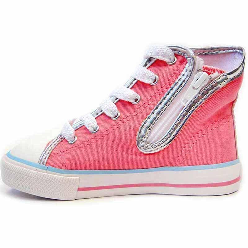 Botinha Infantil Skate Frozen Disney Sugar Shoes Cor Rosa - 24