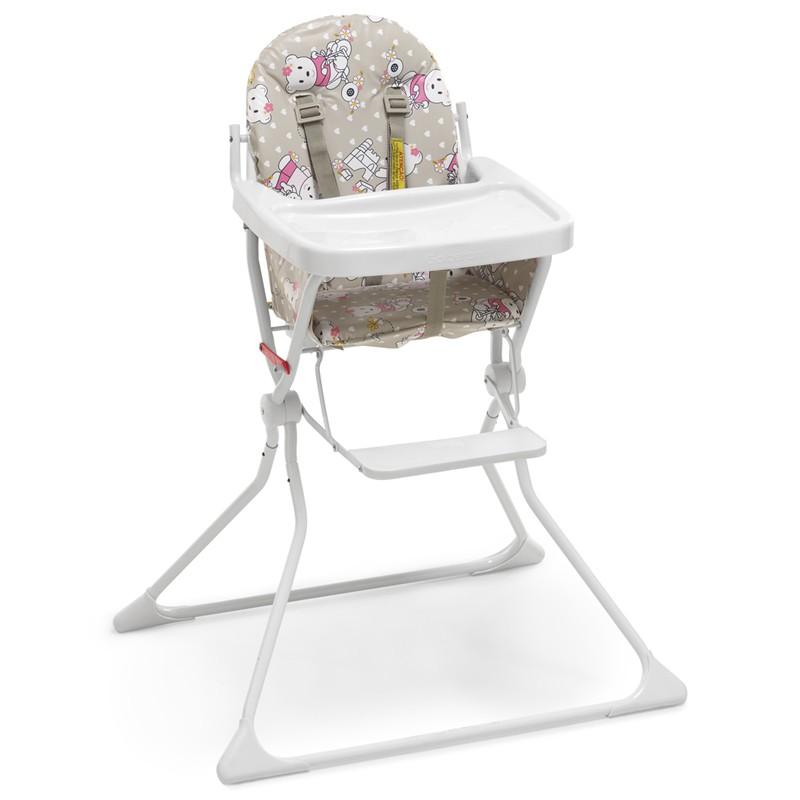 Cadeira de Alimentação Standard II Galzerano Estampa Ursinha