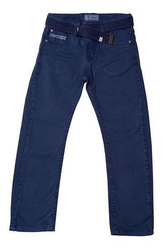 Calça Jeans Infantil Masculina Tofee Cor Azul Escuro - Nº02