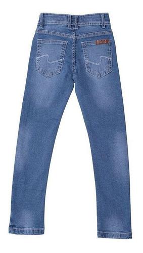 Calça Jeans Infantil Masculina Toffee - Nº06