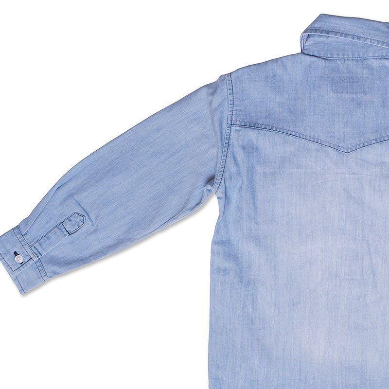 Camisa Infantil Jeans Toffee Cor Jeans