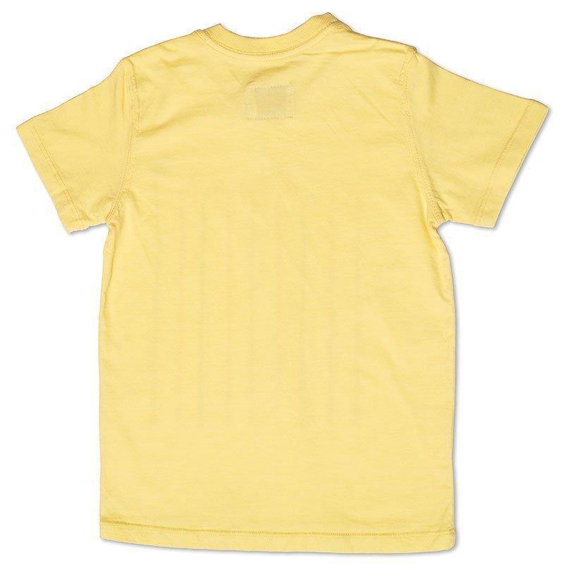 Camiseta Infantil Amarela Tingida Toffee - Nº06
