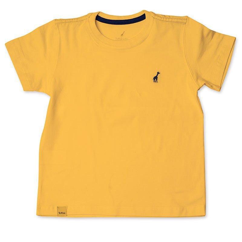 Camiseta Infantil Amarela Toffee - Nº06