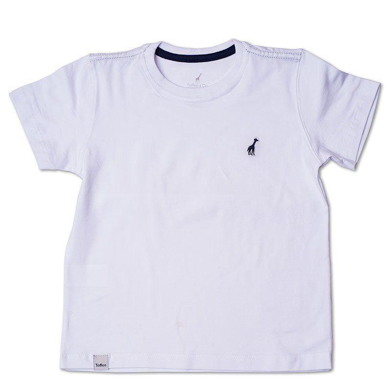 Camiseta Infantil Branca Toffee