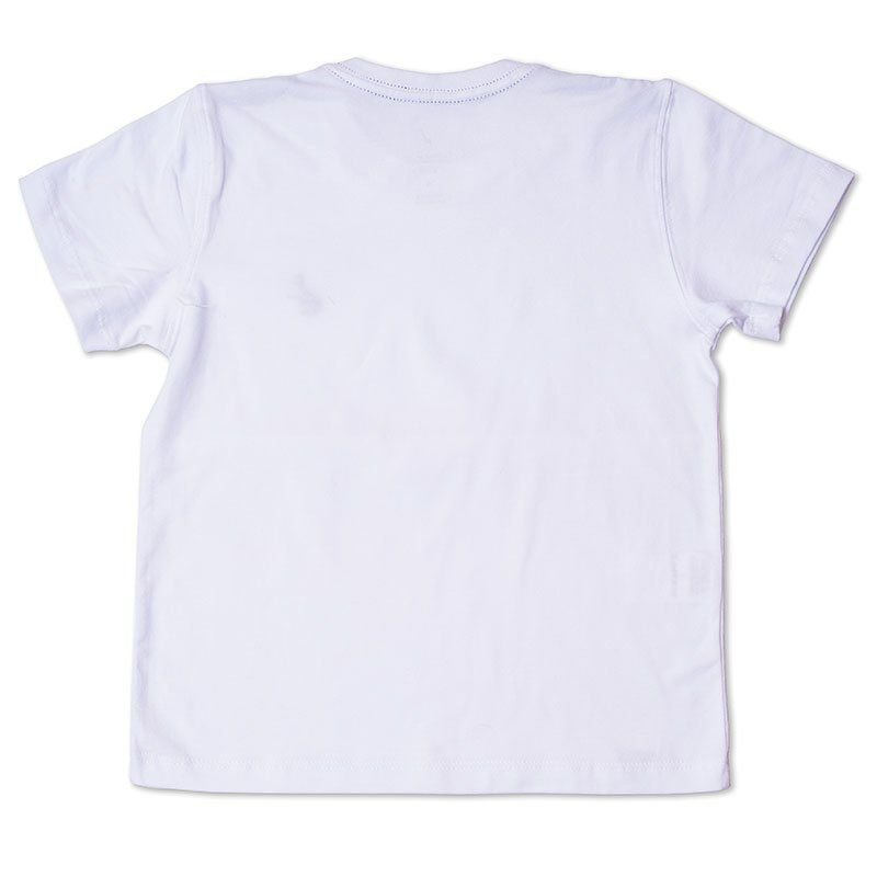 Camiseta Infantil Branca Toffee - Nº02