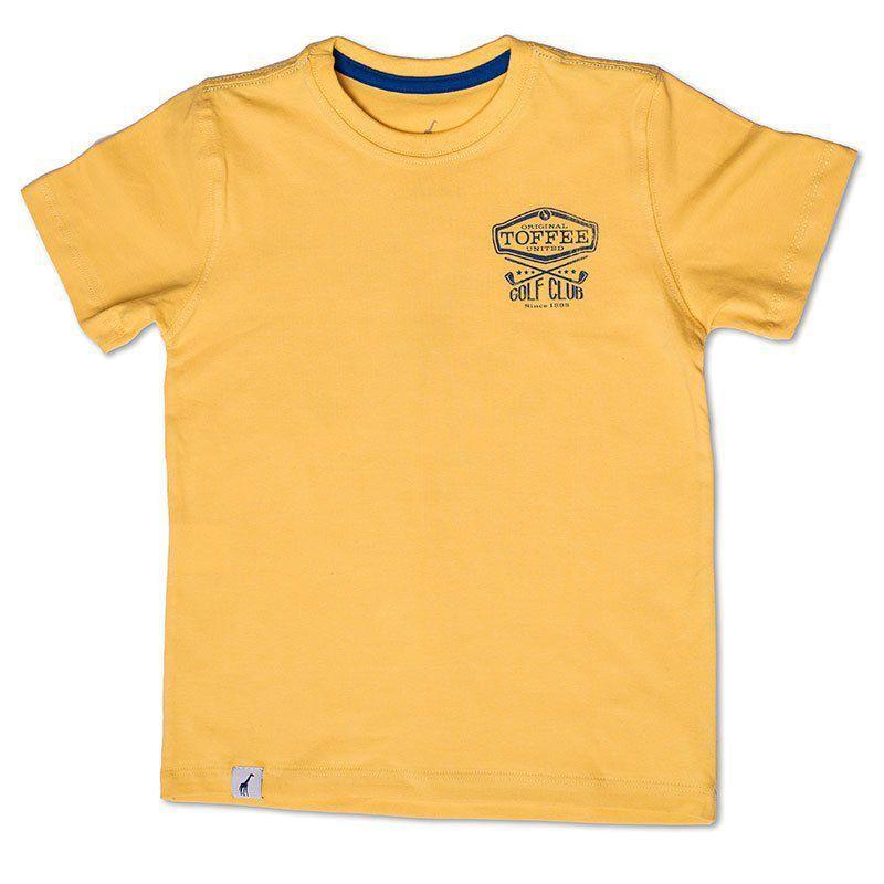 Camiseta Infantil Season Amarela Toffee