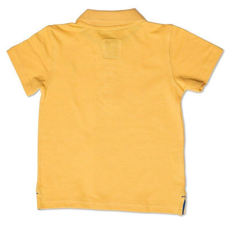 Camiseta Polo Infantil Amarela Toffee - Nº01