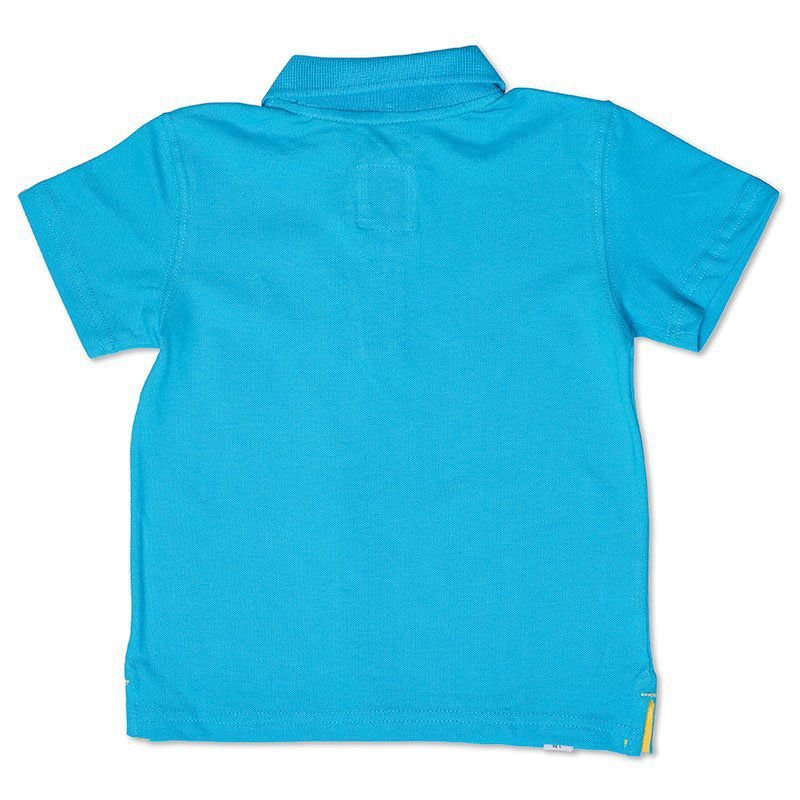 Camiseta Polo Infantil Azul Turquesa Toffee - Nº06