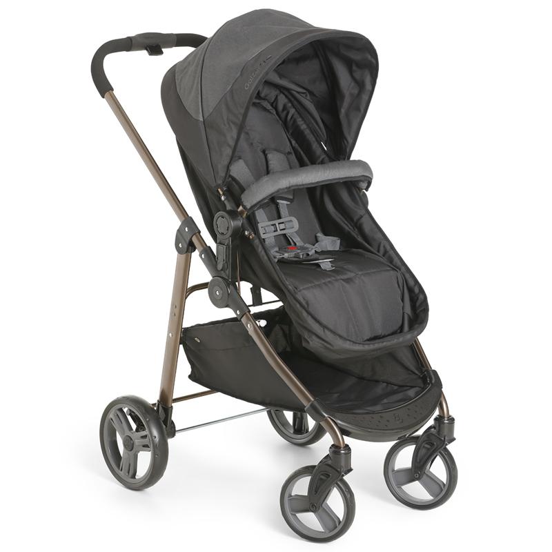 Carrinho de Bebê Olympus Galzerano Cor Black