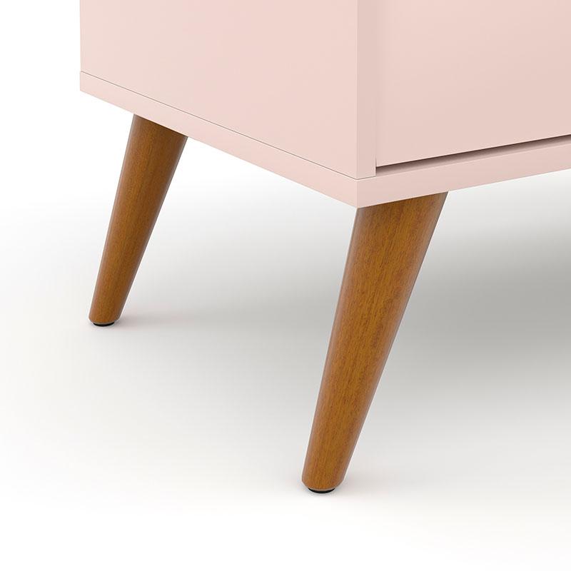 Cômoda Infantil Gold Rosê/Eco Wood