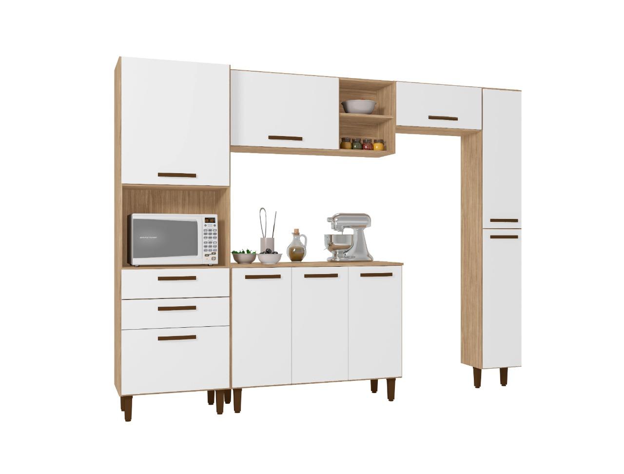 Cozinha Antonella Incorplac Cor Cartagema Branco