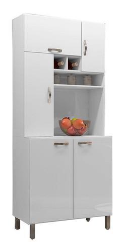Cozinha Compacta Jade Ajl Móveis Cor Branco