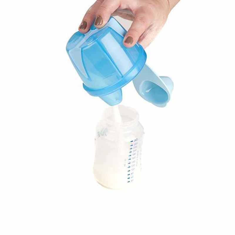 Dosador para Leite em pó Clevamama Cor Azul