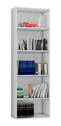 Estante Para Livros Janaina E Luiza Branco Brilho - Ajl
