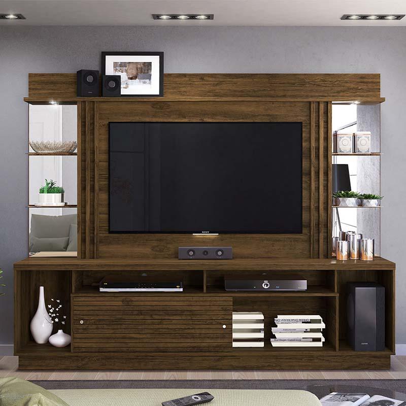 Home Theater Tv 55 Polegadas Frizz Gold Madetec Cor Fendi Naturale
