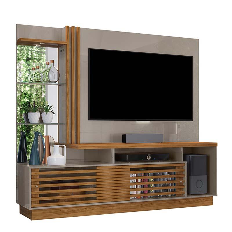 Home Theater Tv 60 Frizz Plus Madetec Cor Fendi Naturale