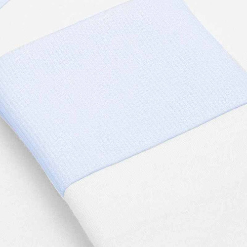 Kit 2 Fronhas Em Malha Azul P Classic For Baby Cor Azul