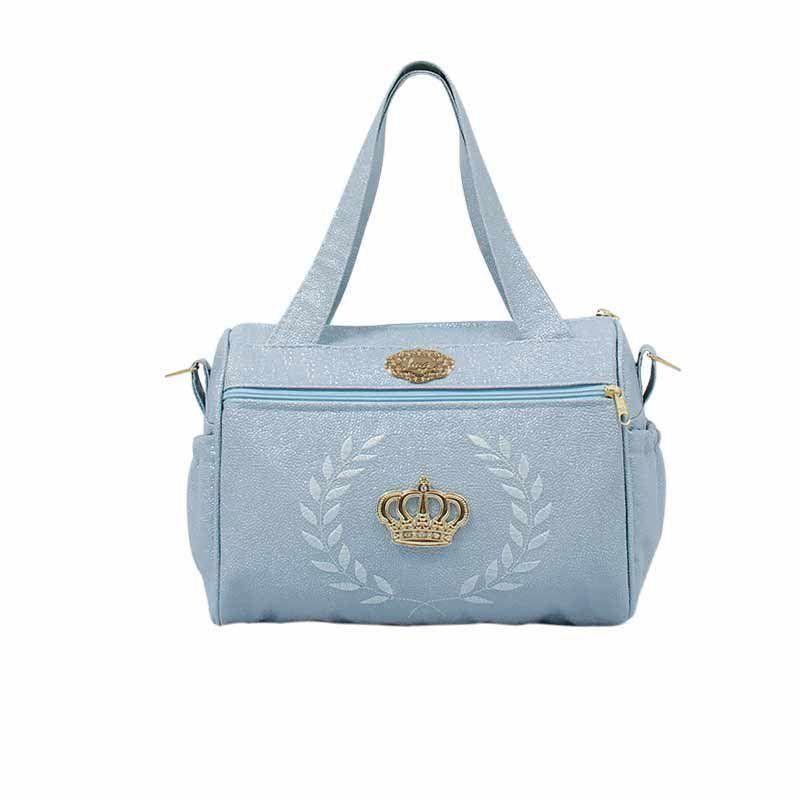 Kit 3 Bolsas Maternidade Majestic Hug Azul
