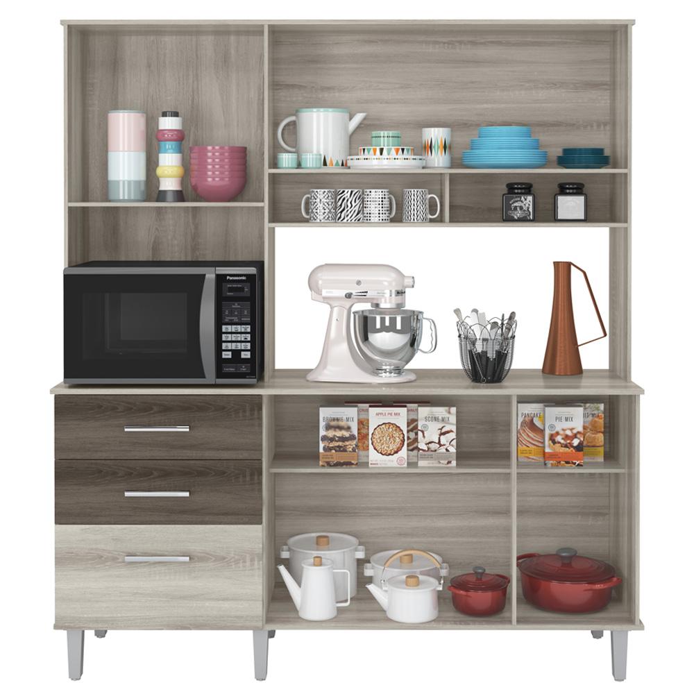 Kit de Cozinha Lara Rud Rack - Platino Toronto