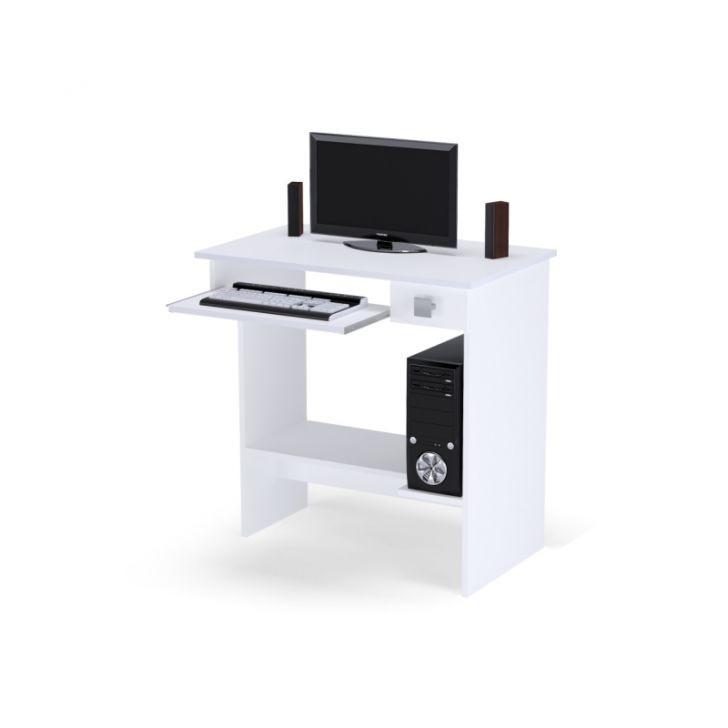 Mesa Para Computador Ajl Móveis Cor Branco