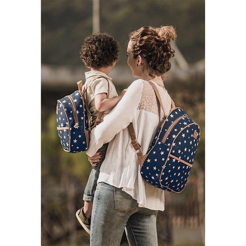 Mochila Baby Versatile Hug Cor Azul Marinho