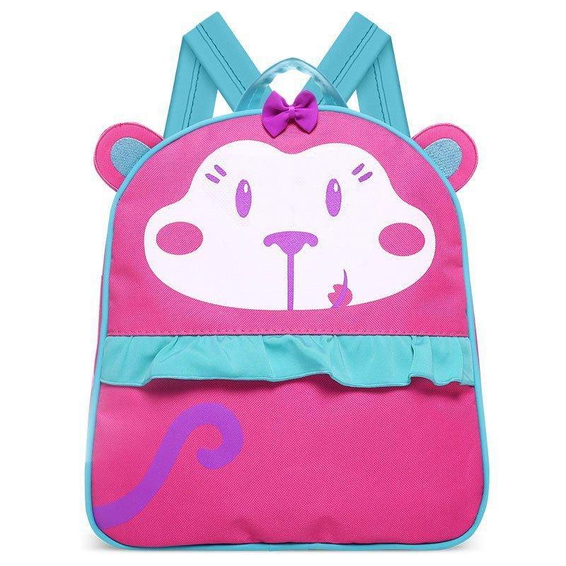 Mochila Infantil Macaquinha Classic for Bags Cor Rosa