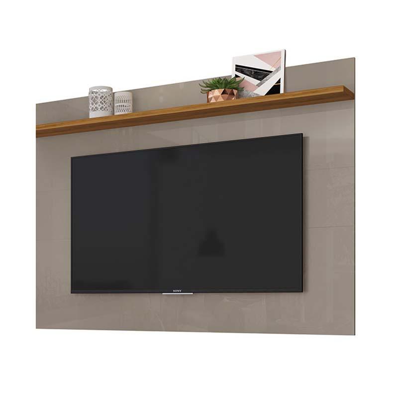 Painel TV 60 Polegadas Lorenzo 160 cm Cor Finde Naturale