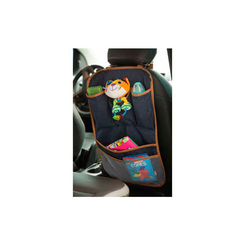 Porta Brinquedos Sarja Hug Cor Cinza