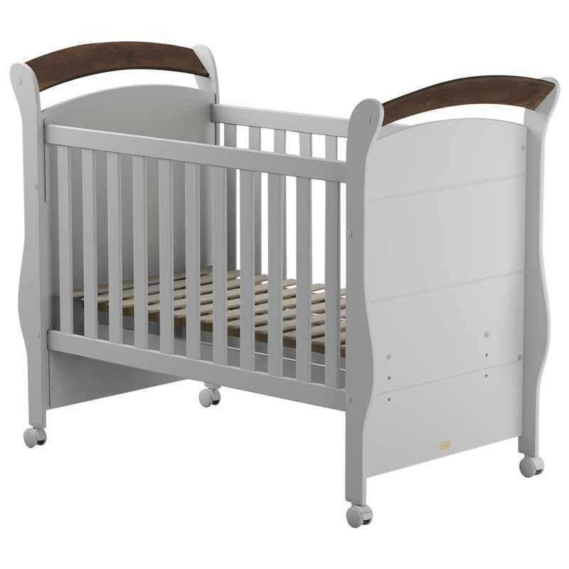 Quarto de Bebê Amore Slim 4 Portas Matic Cor Branco Madeira
