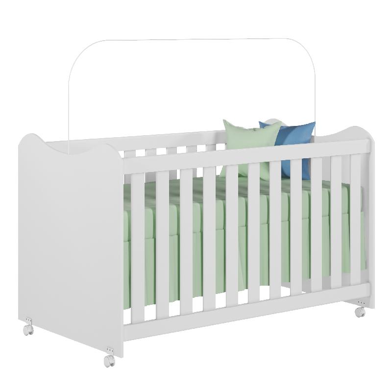 Quarto de Bebê Rubi Peternella Cor Branco