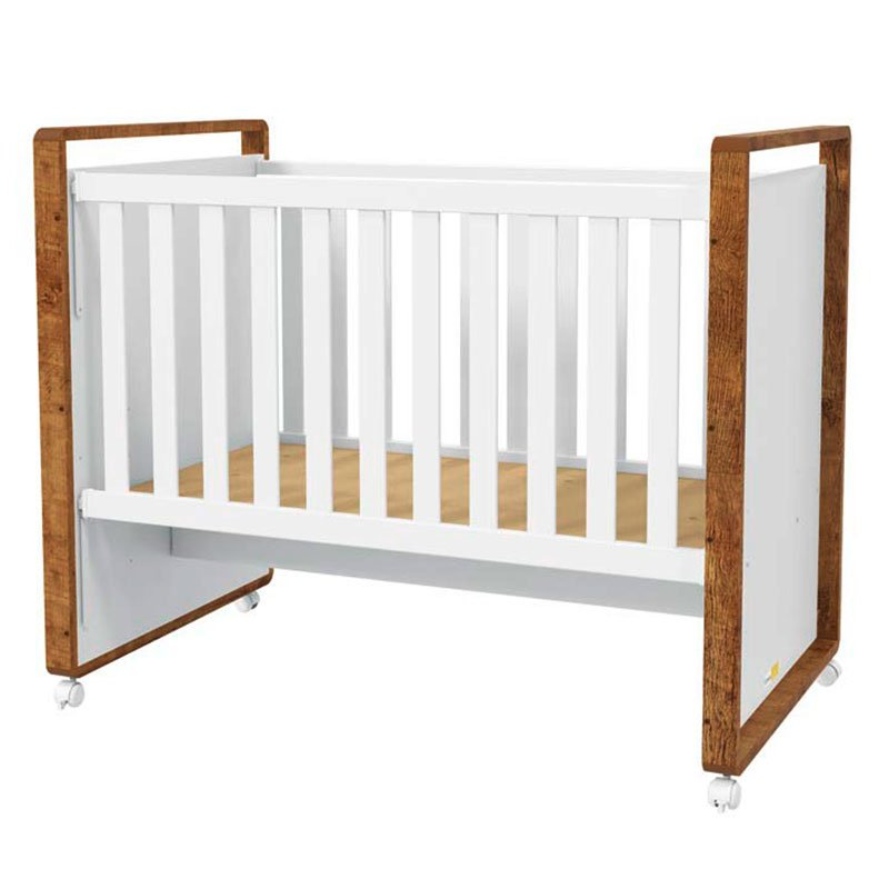 Quarto de Bebê Tutto New Matic Cor Branco Acetinado Teka Touch