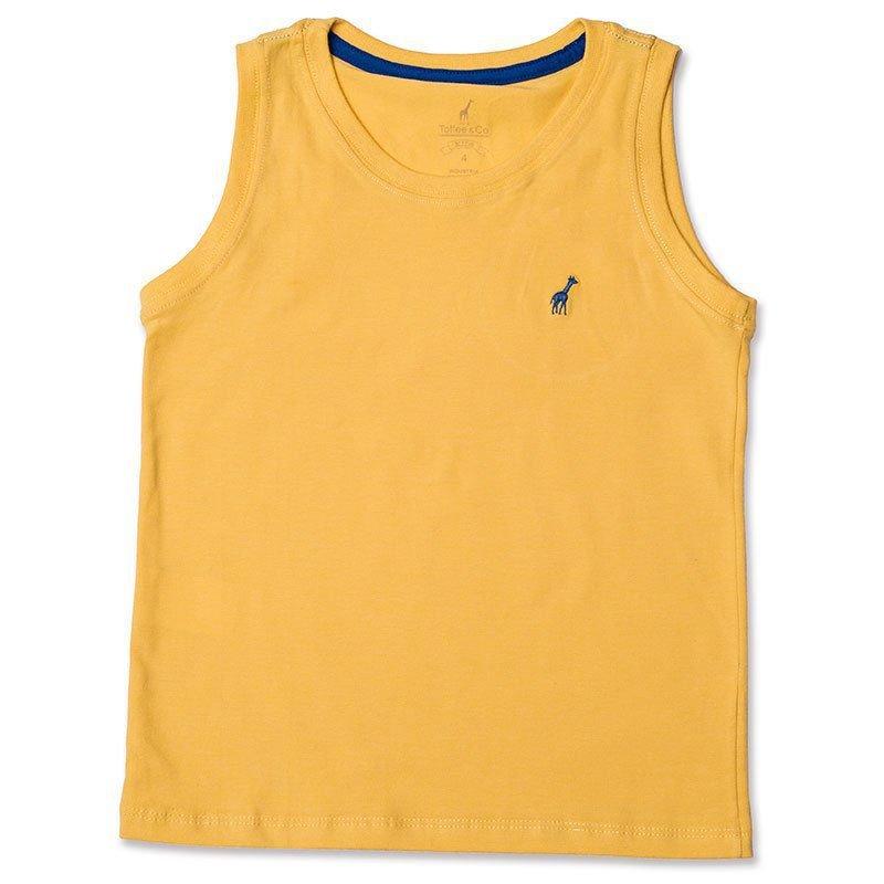 Regata Infantil Amarela Toffee - Nº01