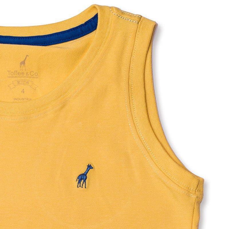 Regata Infantil Amarela Toffee - Nº02
