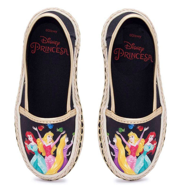 Sapatilha Infantil Princesas Disney Sugar Shoes