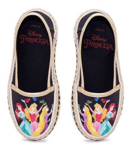 Sapatilha Infantil Princesas Disney Sugar Shoes - N°24