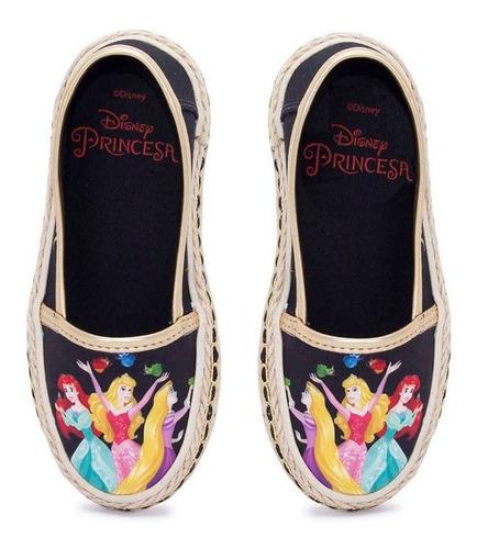 Sapatilha Infantil Princesas Disney Sugar Shoes - N°28