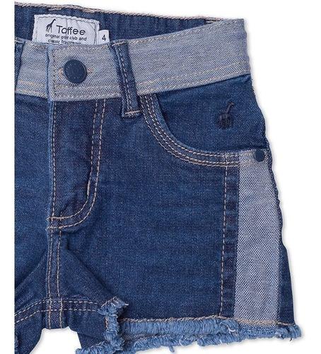 Shorts Jeans Infantil Feminino Toffee - Nº06