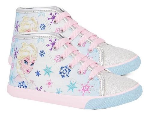 Tênis Infantil Botinha Frozen Sugar Shoes - N°29