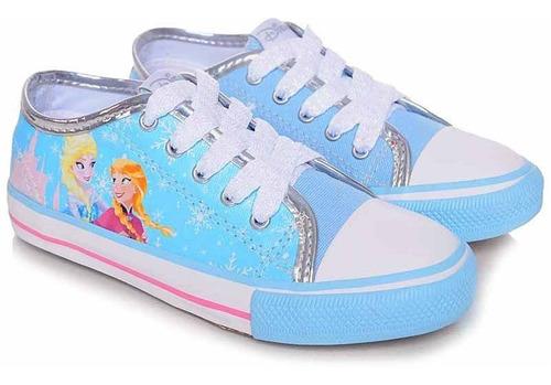 Tênis Infantil Canvas Low Frozen Disney - N°27