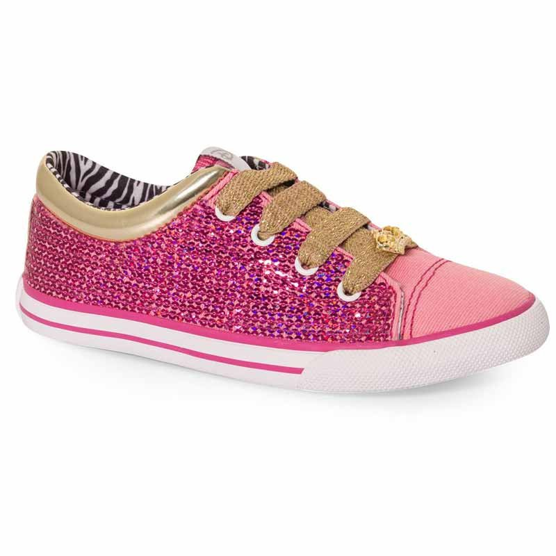 Tênis Infantil Casual Princesas Disney Sugar Shoes