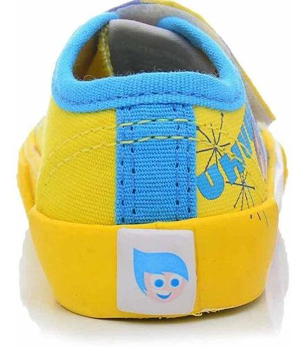 Tênis Infantil Divertida Mente Alegria Sugar Shoes - N°24