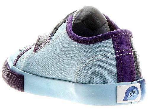 Tênis Infantil Divertida Mente Tristeza Sugar Shoes - N°21