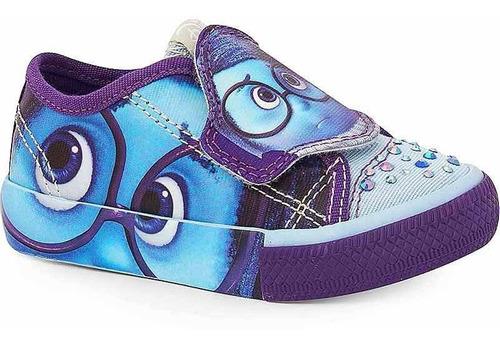 Tênis Infantil Divertida Mente Tristeza Sugar Shoes - N°25