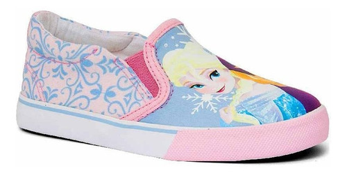 Tênis Infantil Feminino Iate Frozen Disney Sugar Shoes - 28