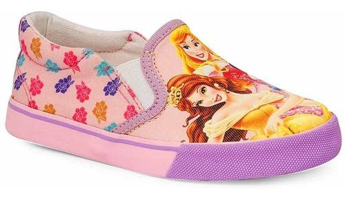 Tênis Infantil Iate Feminino Princesas Disney Sugar Shoes - N°30