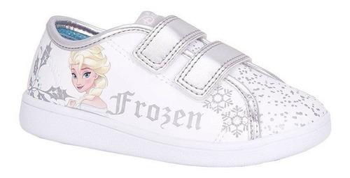 Tênis Infantil Princesa Frozen Diversão Sugar Shoes - N°28