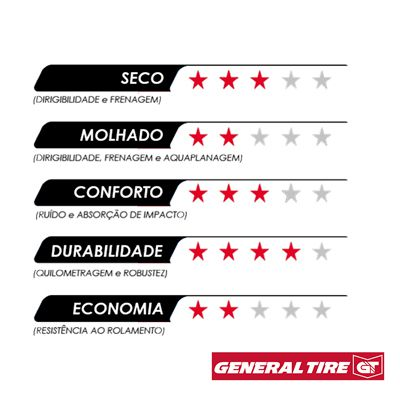 Pneu 195/65R15 91H Evertrek HP  General Tire