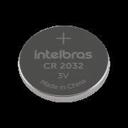 Bateria CR 2032 Intelbras de Lithium 3v