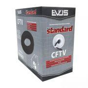 Cabo de Sinal CFTV Evus Standard 4 pares 24 AWG 305 metros